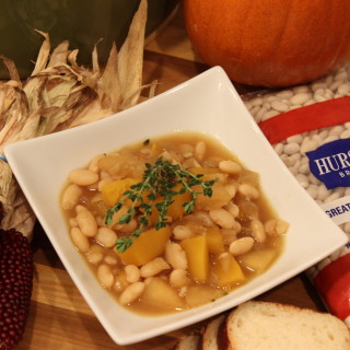 Great Northern Bean Pumpkin Apple Stew
