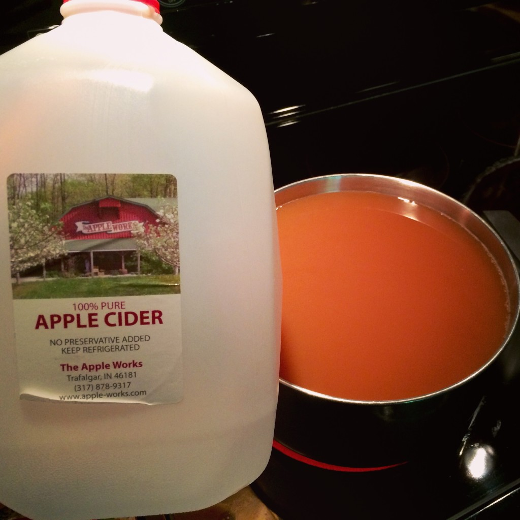 Apple Cider Syrup