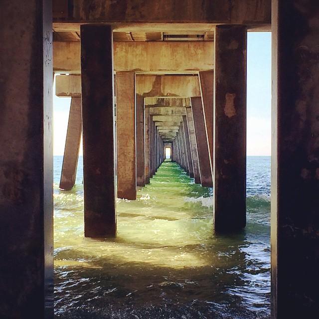 #GulfShores under the pier @AlabamaBeaches @visitsouthkitchen