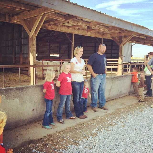 @farmmomof3 Family raising the 7th generation of farmers on this land purchased in 1879 at $53. #farmsmatter #IndianaBeef
