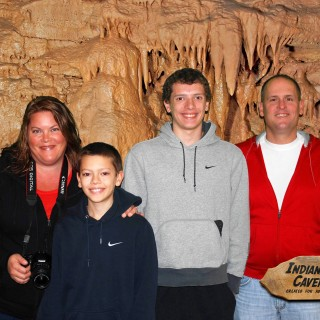 Indiana Caverns  -A Great Place to Visit on Fall Break!