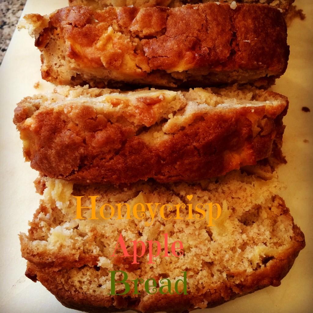 Honeycrisp apple bread