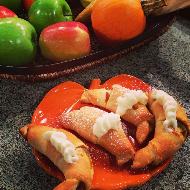 Pumpkin pie crescent rolls were a hit on @IndyStyle today! @IndyStyleProd #foodtv