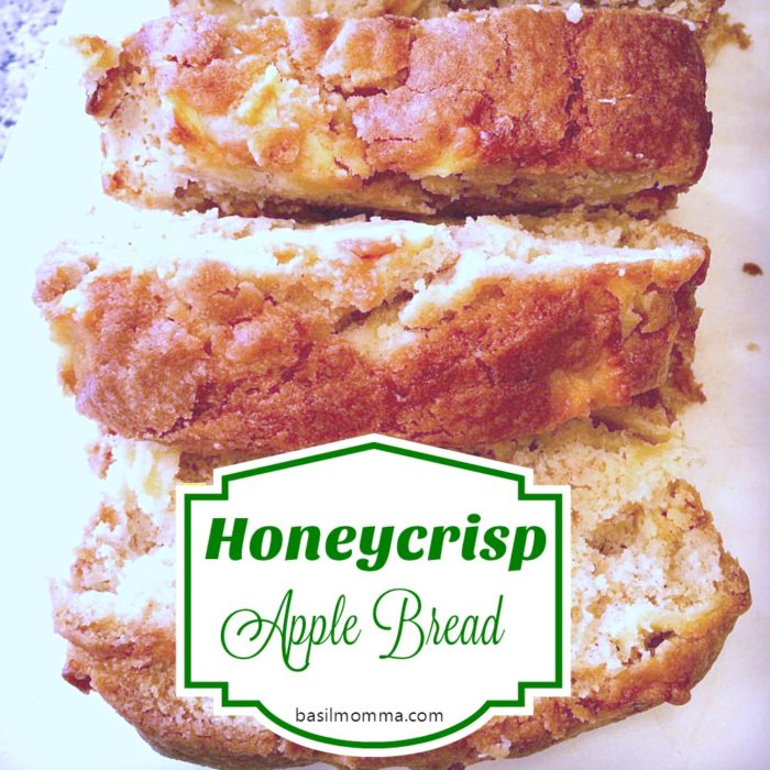 Honeycrisp Apple Bread - the best quick bread recipe I've ever had!