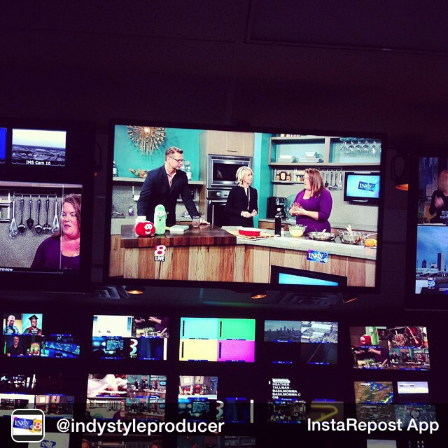 Repost from @indystyleproducer My current view of @IndyStyle. #goodmorning #IndyStyle #indy #FoodTV