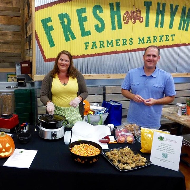 Another great cooking demo at @FreshThymeFM #FreshThyme #FortWayne