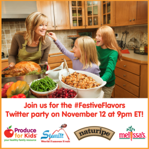 #FestiveFlavors-Twitter-Party