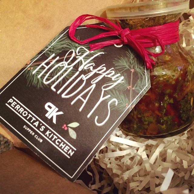Thank you @perrottaskitchen for the chimichurri sauce! I can't wait to try it:) #PK #grateful
