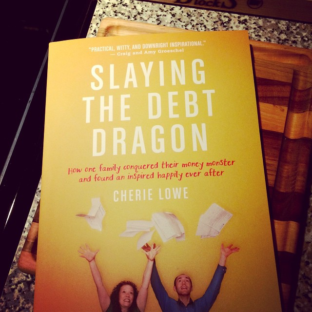 I got my book today! So proud of you @thequeenoffree #slaydebt