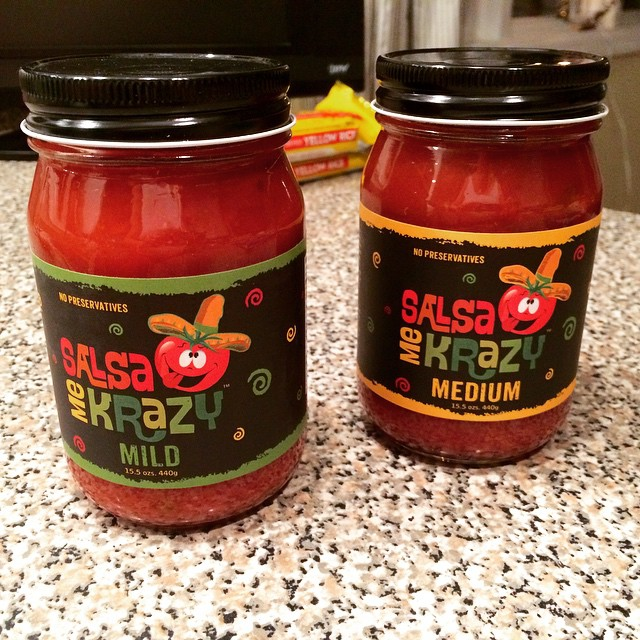 Look what I found at @MarshSupermarkets local favorite @salsamekrazy !This will go well with my moms annual Christmas Eve chicken enchiladas:)