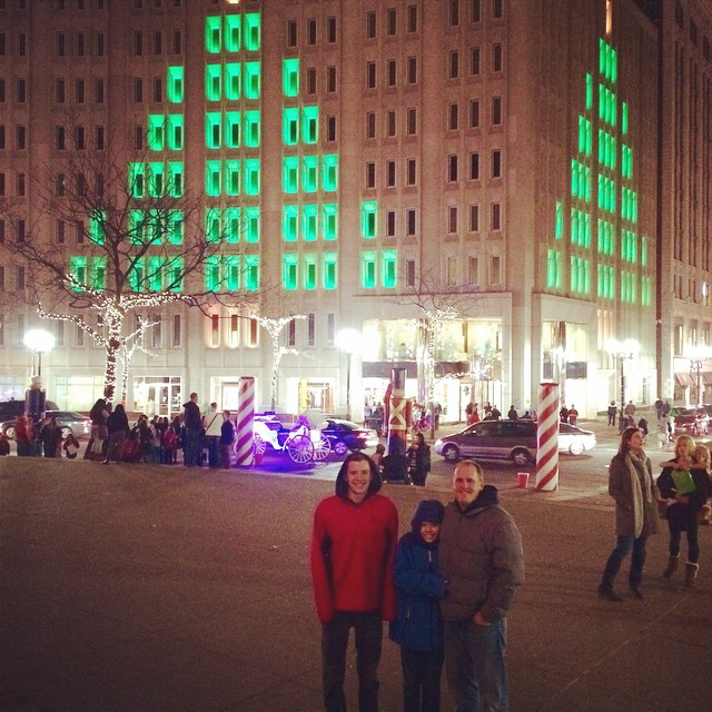 A few of my favorite #Christmas sights! @visitindy #DowntownIndy