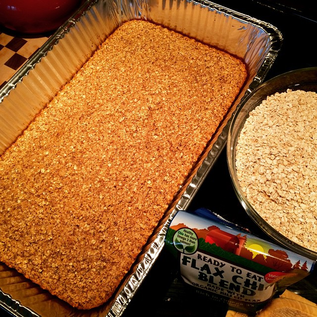 Baked oatmeal for everyone! #swimmerfood