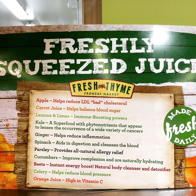 Getting ready to juice ALL the produce at @freshthyme on 86th St. #Indianapolis #FitandLean2015 #freshthyme