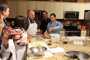 Maple Leaf Farms Duck Cooking Class at A Cut Above Catering in Indianapolis