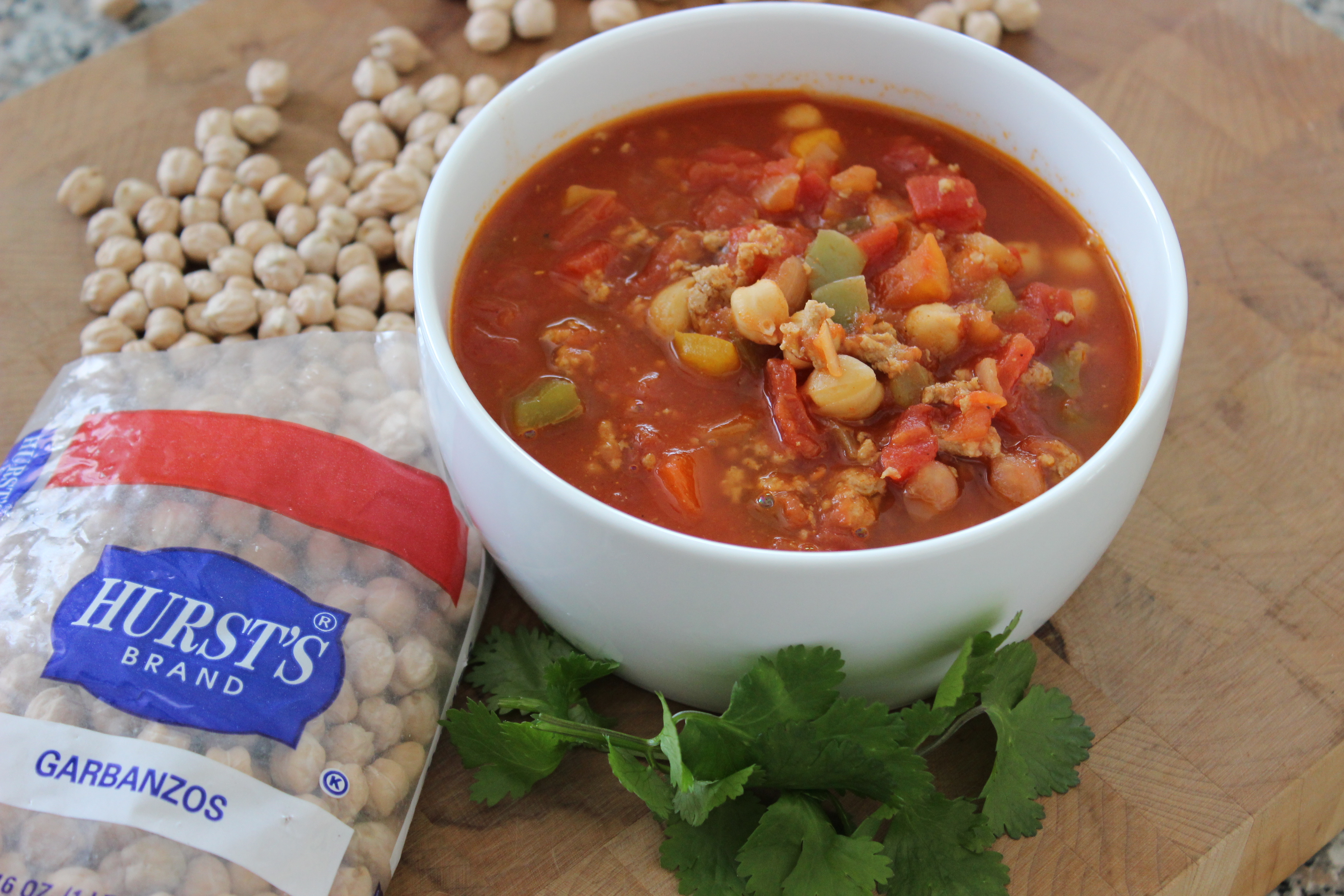 Turkey Chickpea Chili