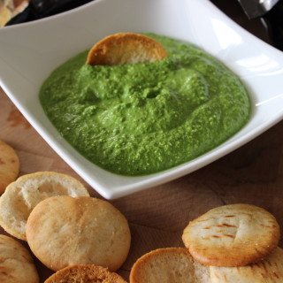 Spinach Feta Dip Recipe With Toufayan Pita Chips