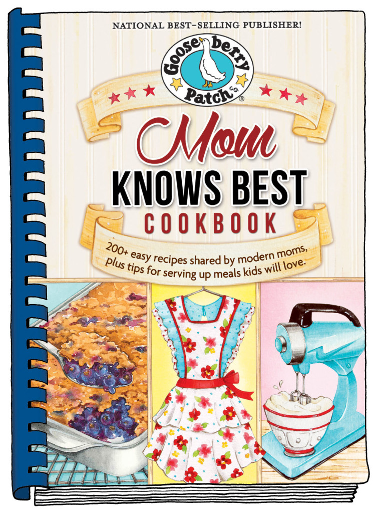 Gooseberry Patch Cookbooks Mom Knows Best Giveaway Basilmomma