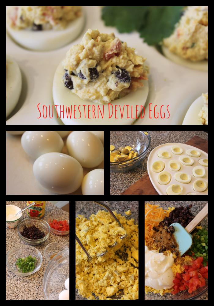 Southwestern Deviled Eggs #OhioEggRoll
