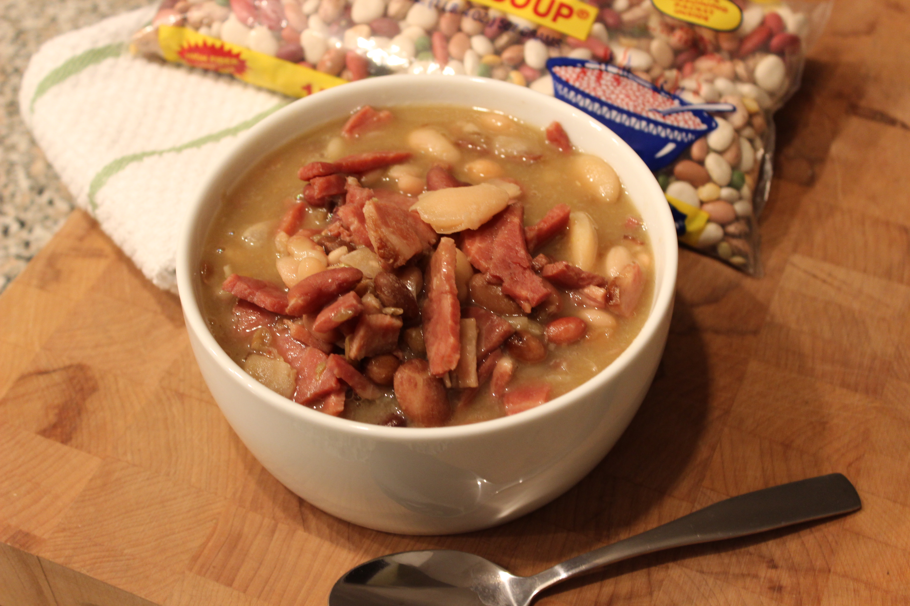 15 Bean Soup With Leftover Ham