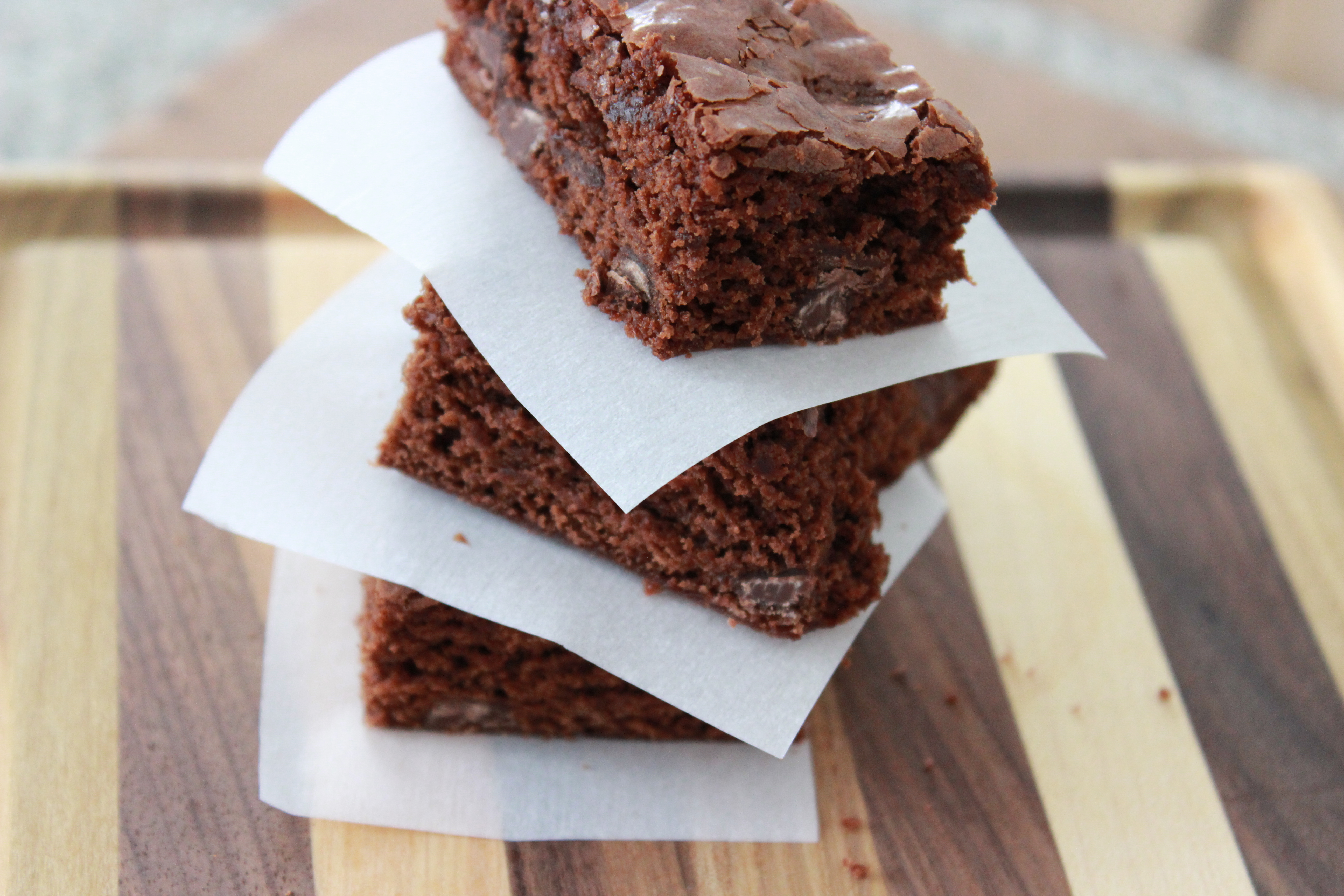 2 Ingredient Nutella Brownies ~ As heard on B105.7 Soft Rock with Sean Copeland