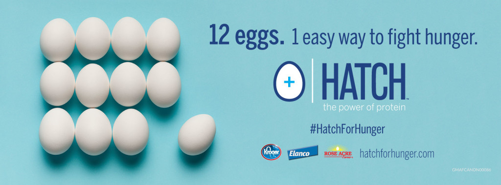 Help Feed Hoosier Families at Kroger with #HATCHforHunger