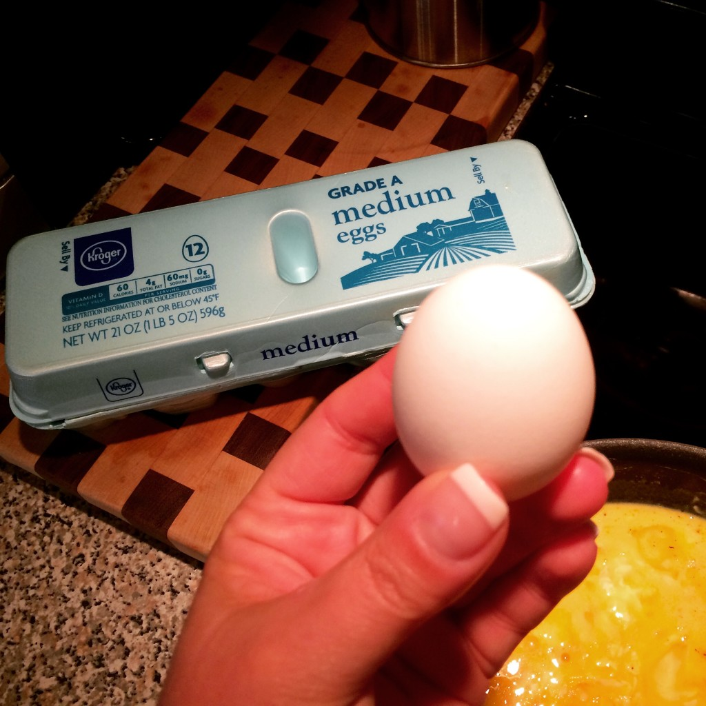 Right now if you buy ONE dozen MEDIUM eggs at an Indiana Kroger, they donate one egg to a local food pantry!