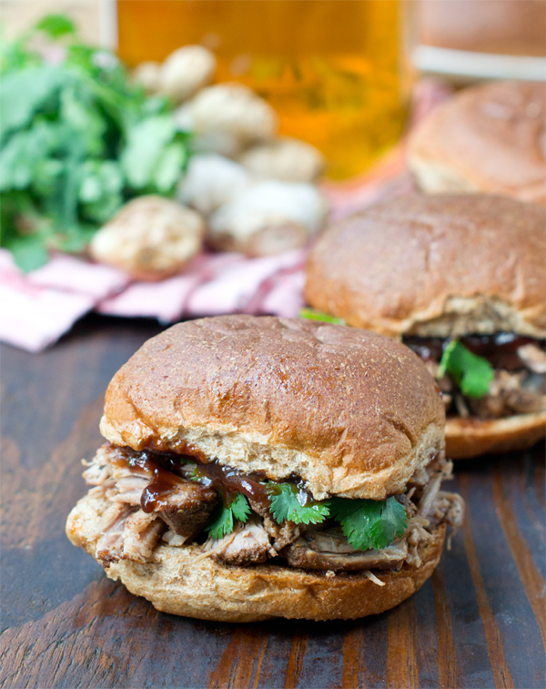 Summer Slow Cooker Recipes - Pulled Pork with Caribbean Jerk Seasoning from COOKtheSTORY.com