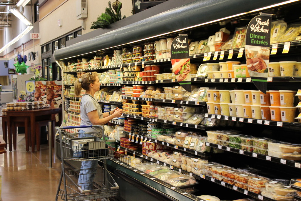 Grocery Store 101: Learning from a Registered Dietitian- my tour through a local Kroger grocery store.