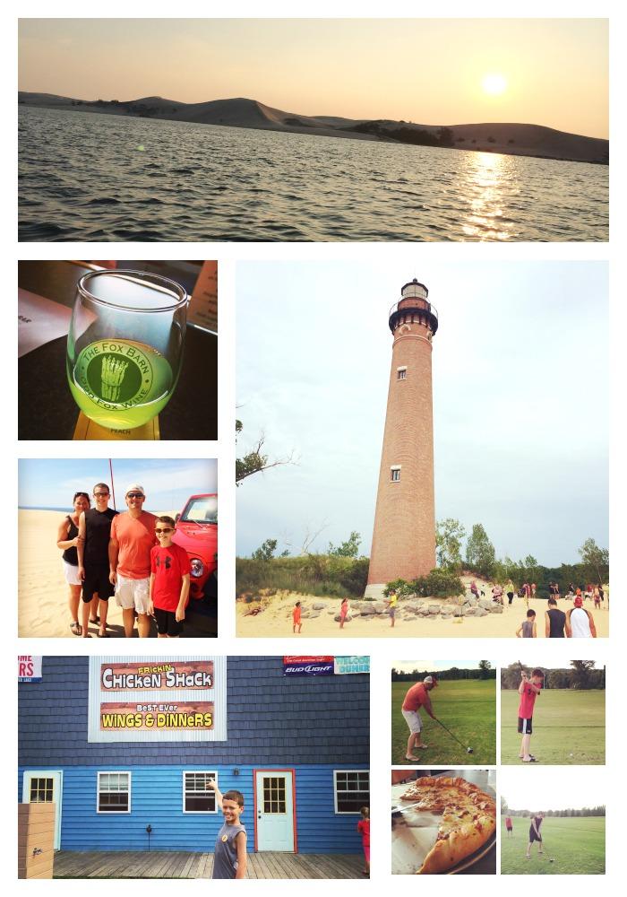 A Weekend in Silver Lake, Michigan