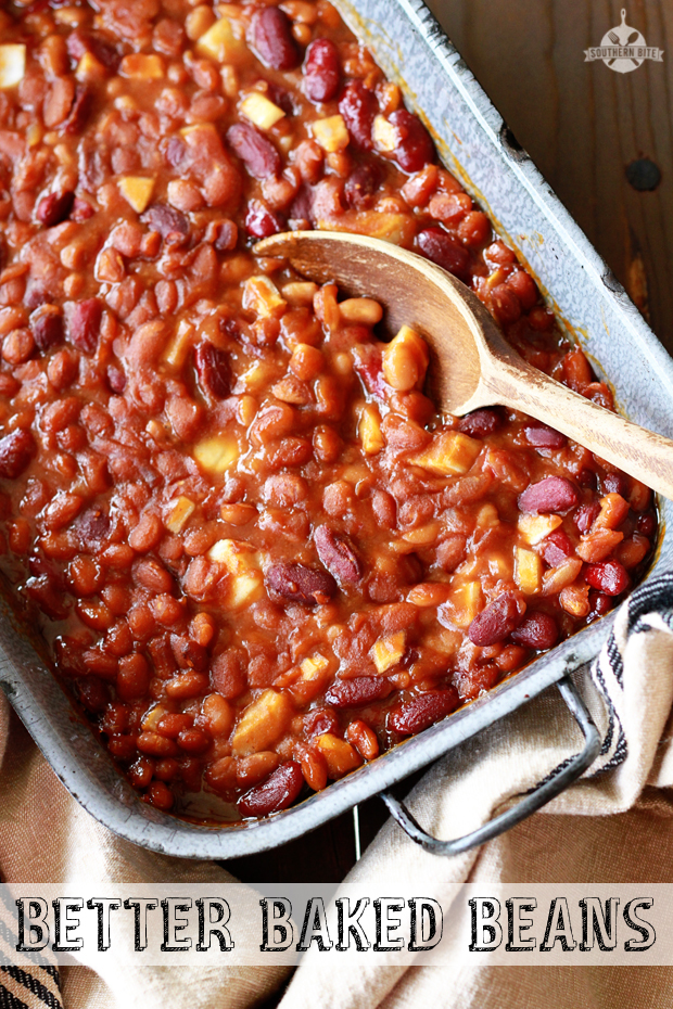 Better Baked Beans Recipe from SouthernBite.com