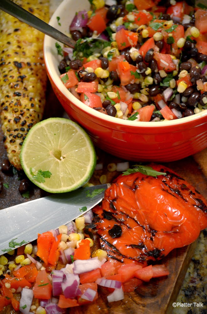 Grilled-Corn-Salsa-with-Black-Beans