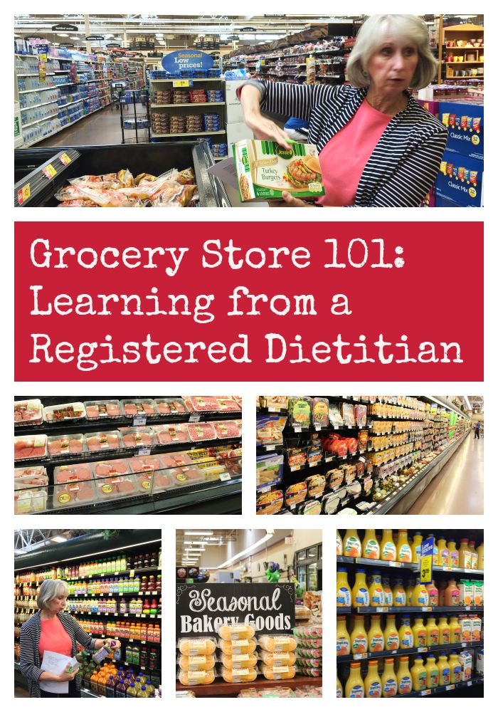 Grocery Store 101: Learning from a Registered Dietitian
