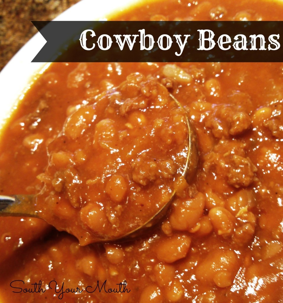 Cowboy Baked Beans Recipe from South Your Mouth
