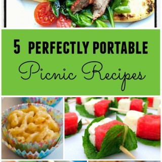 5 Perfectly Portable Recipes for a Picnic