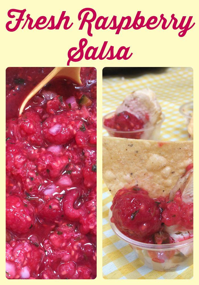 Fresh Raspberry Salsa