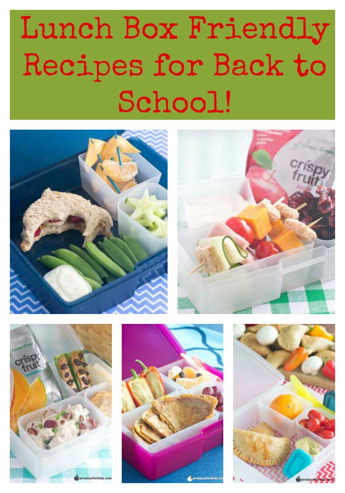 Lunch Box Friendly Recipes for Back to School!