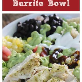 Tex-Mex Chicken Burrito Bowl