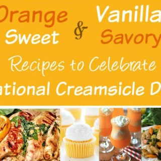 5 Outstanding Orange Recipes for National Creamsicle Day