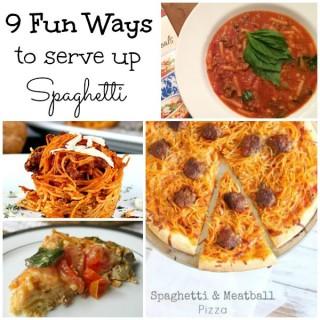 9 Fantastically Fun Ways to Serve Spaghetti