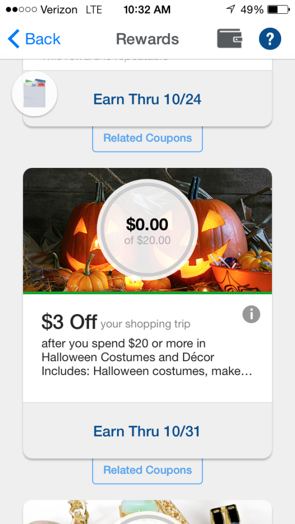 Save money on Halloween