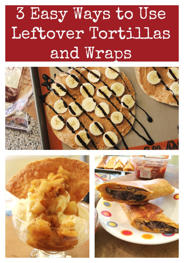 3 Easy Ways to Use Leftover Tortillas and Wraps - Basilmomma
