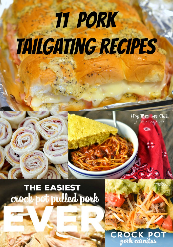Colts Best Tailgate pork recipes