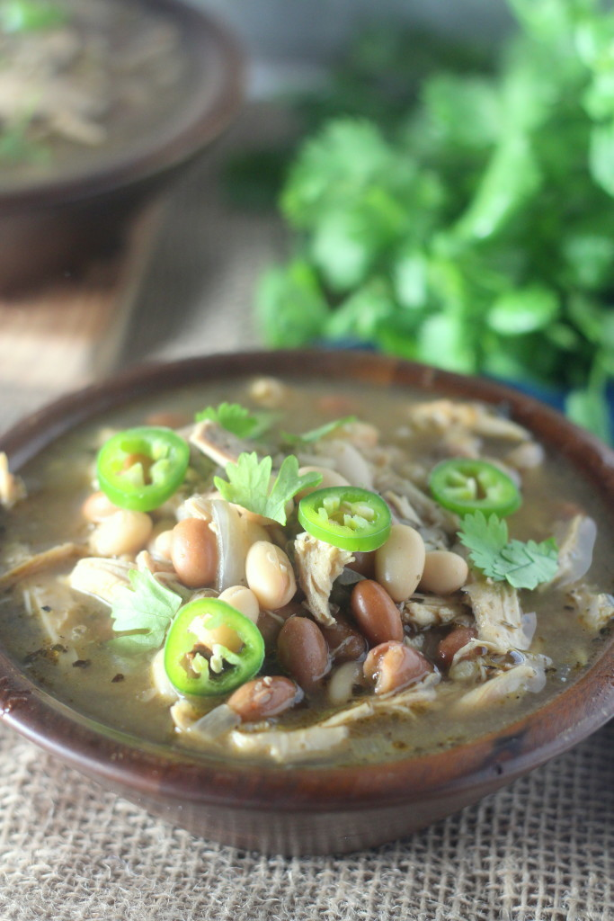 Low Carb Mexican Chicken Chili from Blackberry Babe - 1 of 20 of the best chili recipes in a collection on basilmomma.com