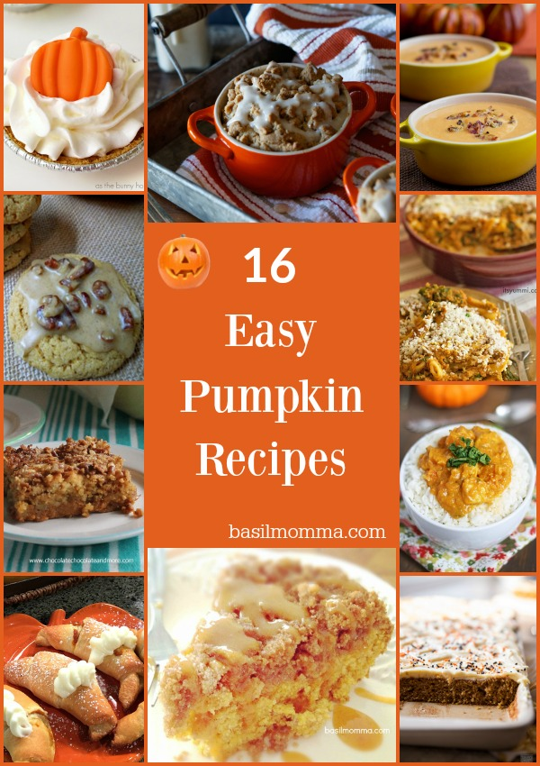 16 Easy Pumpkin Recipes that You'll Crave Instantly