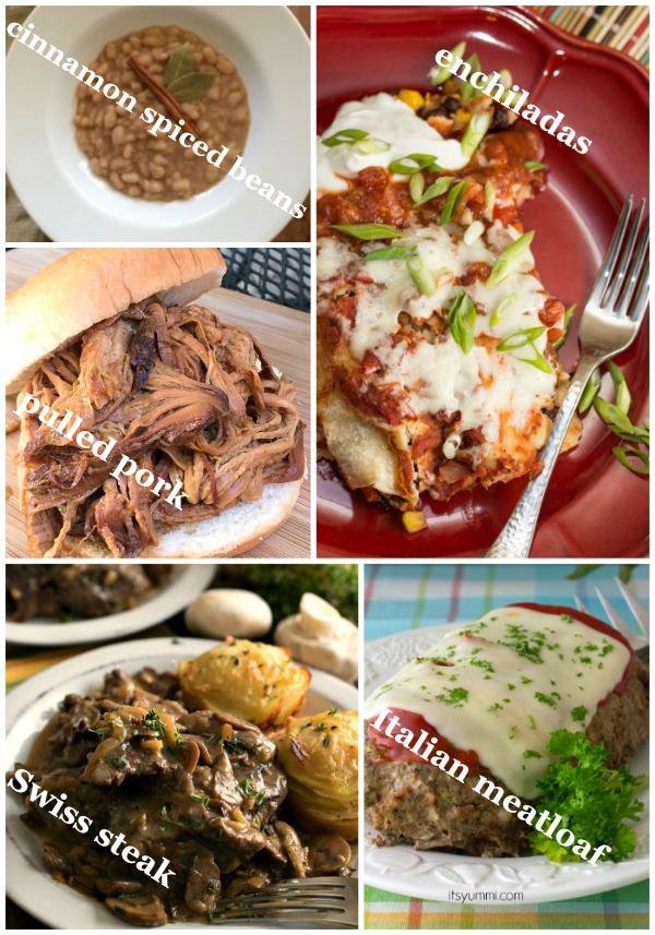 Comforting Fall Slow Cooker Recipes to warm you up AND fill you up! Get the recipes on basilmomma.com