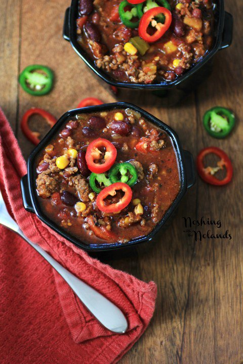 Best Darned Chili, from Noshing with the Nolands - 1 of the 20 best chili recipes in a collection on basilmomma.com