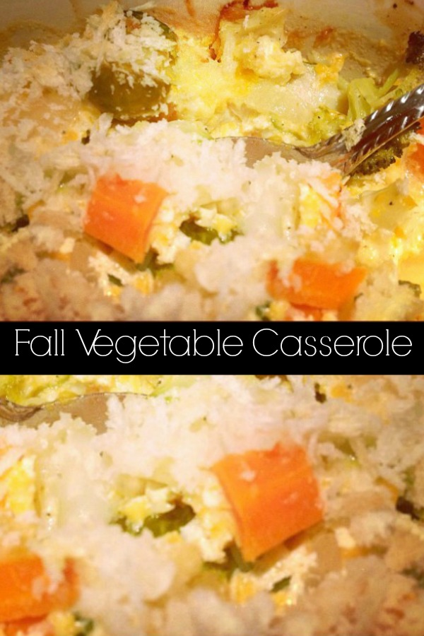 Recipes using Thanksgiving leftovers can be tricky to come up with, but this Fall vegetable casserole is a perfect way to use up leftover vegetables!