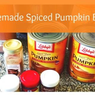 Homemade Spiced Pumpkin Butter