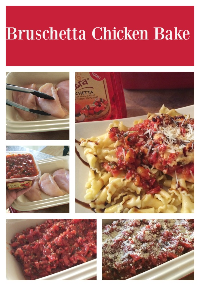 Bruschetta Chicken Bake 2