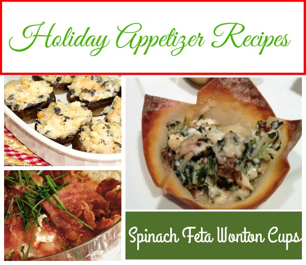 Easy Holiday Appetizer Recipes Collection - Some of the easiest appetizer recipes for the holidays, game day parties, and any day ending with a Y. Get the collection at basilmomma.com